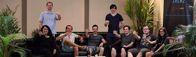 The team on IRL in Thailand